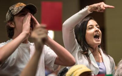Muchos ciudadanos han expresado su rechazo a la reforma sanitaria que pr...