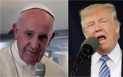 ¿Cómo sería una conversación entre el Papa Francisco y Donald Trump?