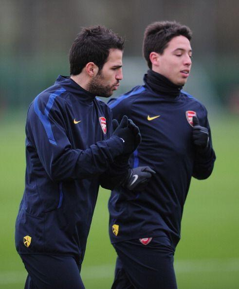 El Arsenal fue la casa de varios jugadores que hoy militan en el Barcelo...