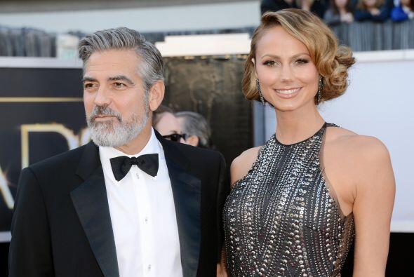George Clooney cortó con su espectacular novia Stacy Keibler a principio...