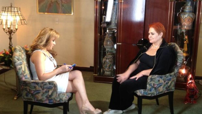 Lupita D´Alessio habla con Tanya Charry