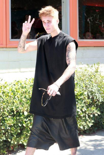 Como se podrán dar cuenta, Justin se ha convertido en todo un hom...