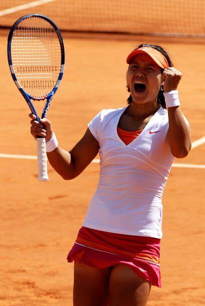 Na Li se convirtió, con el triunfo, en la primera finalista china...