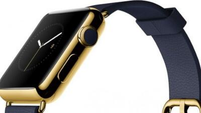 El Apple Watch de oro comienza en $10,000.
