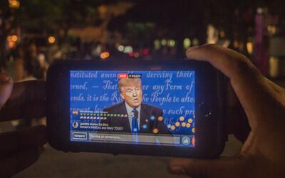 Trump teléfono