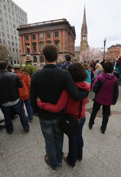 Boston recuperaba el sábado la normalidad después de que el viernes la c...