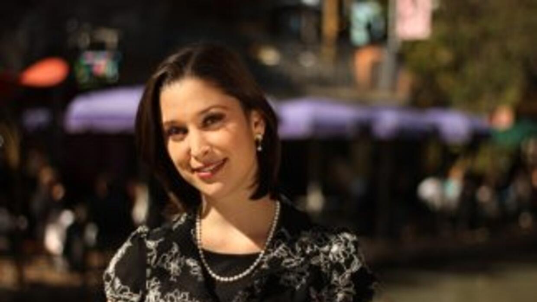Arantxa Loizaga, conductora de Noticias 41 en San Antonio, Texas.