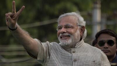 Narendra Modi, nuevo gobernante de la India