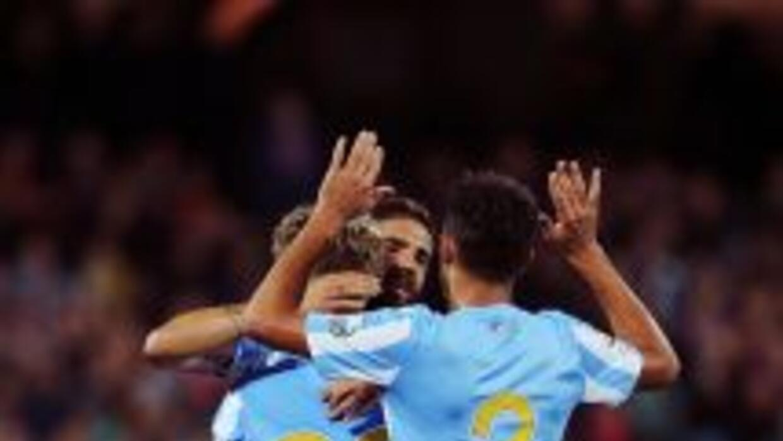 Málaga ganó con sufrimiento.
