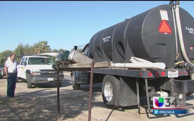 La sequía se hace más dura en Porterville