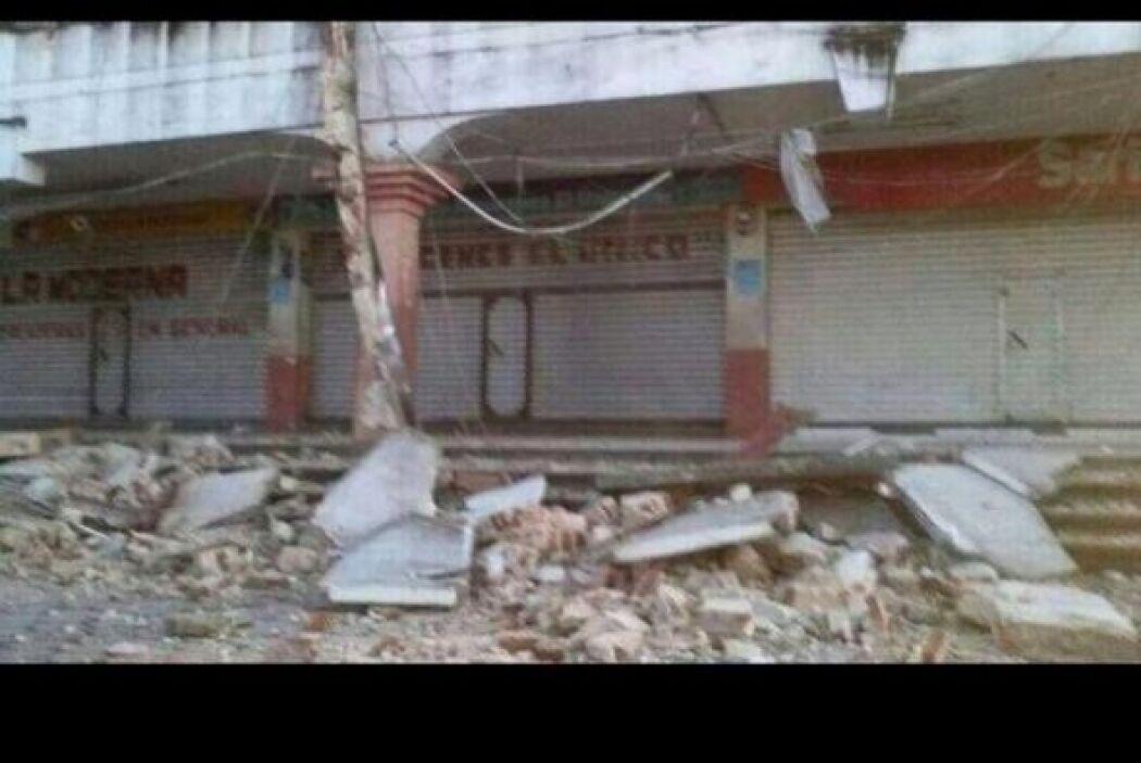 Daños considerables en San Marcos Guatemala, por sismo de 7.1° con epice...