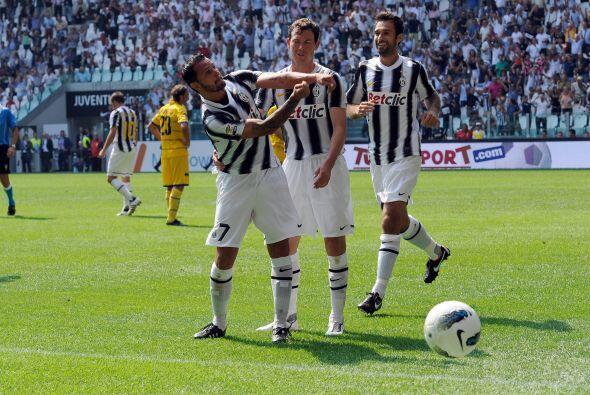 Los goles comenzaron a llegar en favor de la 'Vecchia Signora'.