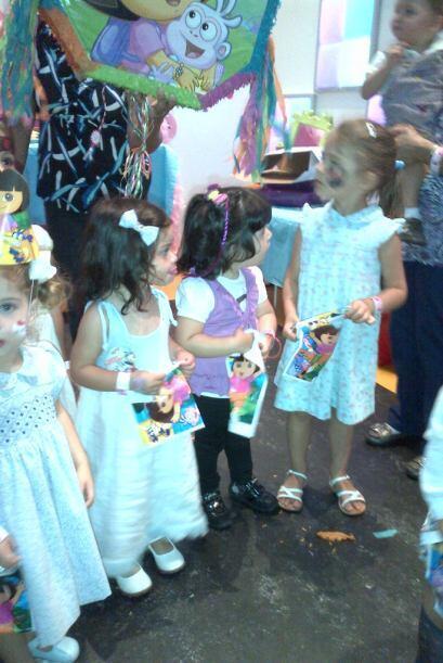 La pequeña hija de Chiquinquirá Delgado, Carlota, cumplió dos añitos de...