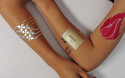 """El tatuaje """"inteligente"""" con el que podemos controlar nuestros dispositi..."""