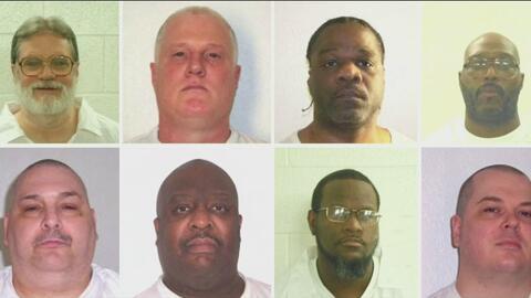 Juez en Arkansas suspende la ejecución de 8 reos que se encontraban en e...