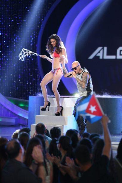 Las chicas derrocharon sensualidad en el escenario mientras que Alexis y...