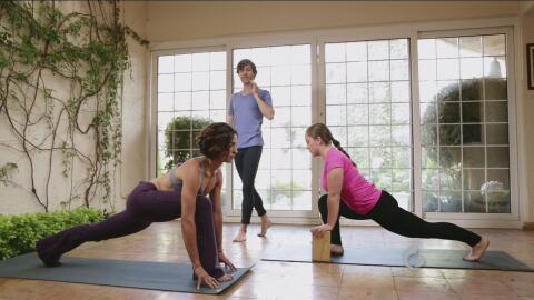 Yoga con Luz: Postura del corredor