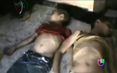 Ataque químico con gas sarín en Siria