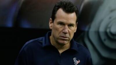 El entrenador de los Texans tuvo un ataque cerebrovascular que no dejó s...