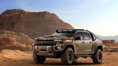 El Chevrolet Colorado ZH2 será el nuevo vehículo militar y no usará gaso...