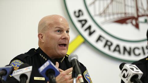 Greg Suhr, jefe de la Policía de San Francisco
