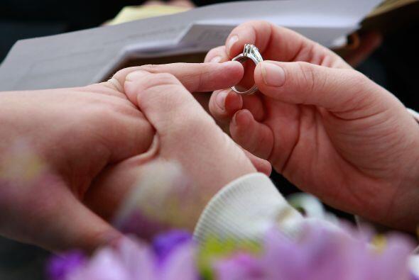 Las bodas gay son legales en seis estados y en el Distrito de Columbia,...