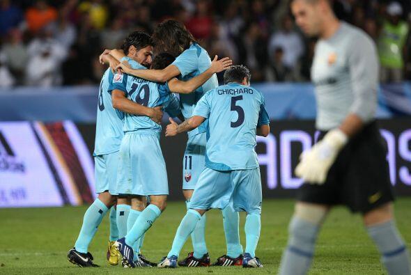 Los Potros sorprendieron con gol de Guillermo Rojas al minuto cinco, per...