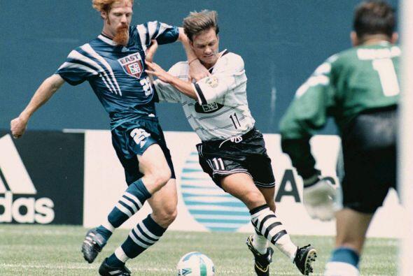 En la primera edición del juego de las estrellas de la MLS en 199...