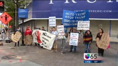 Latino Boicot Contra el Nuevo Hotel de Donald Trump
