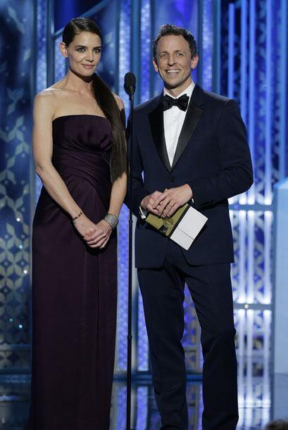 Katie Holmes y Seth Meyers