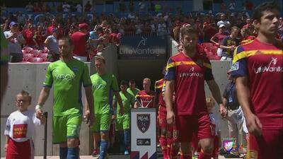 Triunfo del Real Salt Lake 2-1 ante los Seattle Sounders