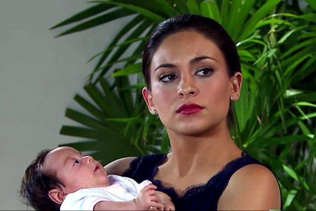 Ahora María Alejandra era toda una 'mamacita'.
