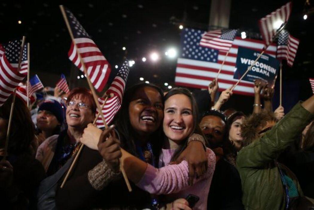 Obama ganó la reelección para un segundo mandato, hasta el 2016, frente...