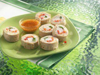 Rollitos de Tortilla tipo sushi: ¿Por qué salir a comer af...
