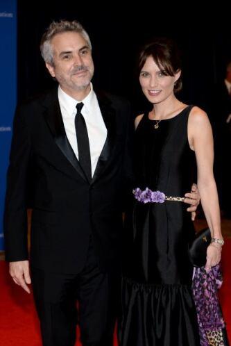 Alfonso Cuarón fue con su pareja, Sherezade Goldsmith. Mira aquí los vid...