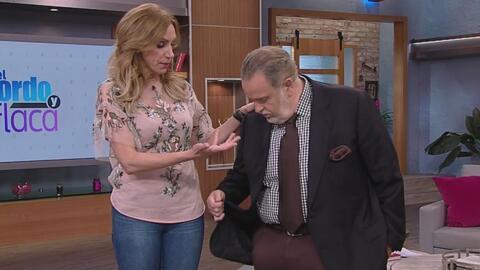 A Raúl de Molina se le cayó un botón durante el show en vivo