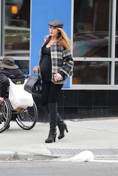 La actriz está esperando su primer bebé junto al actor Ryan Reynolds.