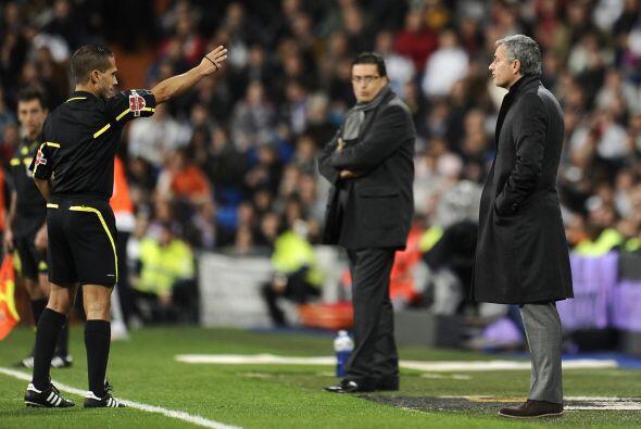 Al técnico de los 'blancos' José Mourinho no le parec&iacu...