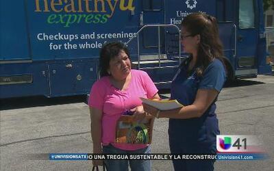 Exámenes gratis en la Feria de Salud de Univision41