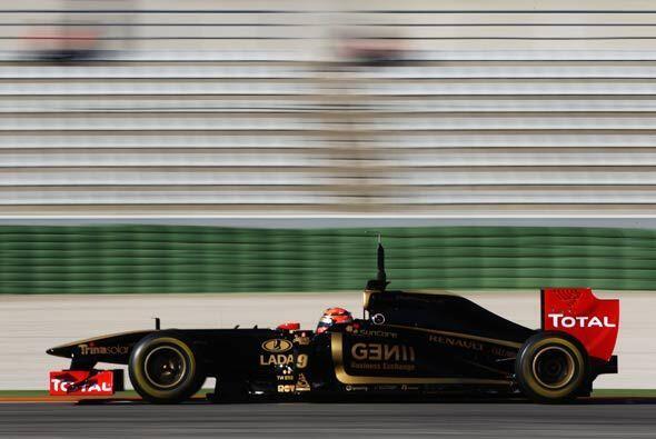 En 2010, Kubica terminó octavo de la clasificación general...