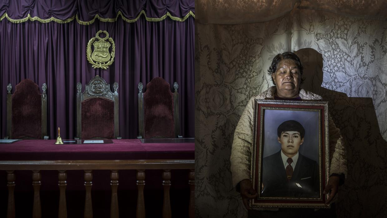 Celsa Taco recibió los restos de su hijo de 33 años después de su desapa...