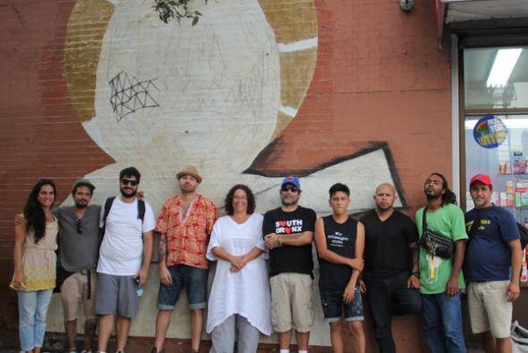 Para este proyecto viajaron desde Puerto Rico Celso González, Jua...