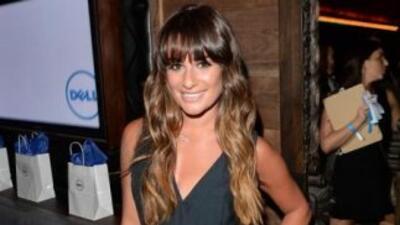 Lea Michele decidió alejarse de Los Ángeles durante el pasado fin de sem...