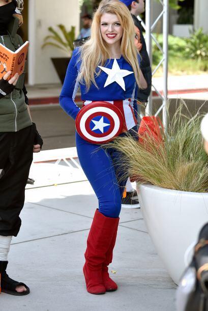 Si eres fan del Capitán América, también puedes tra...