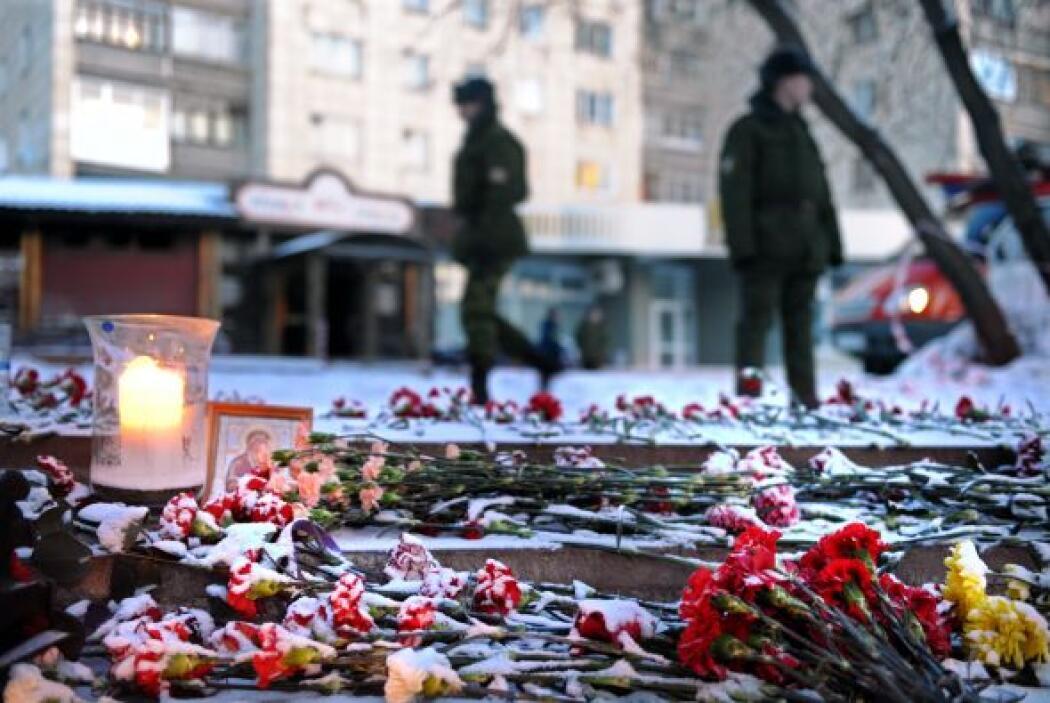5 diciembre 2009, Rusia.- 155 muertos en un incendio, provocado por lanz...