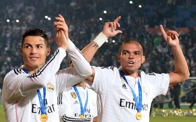 Pepe elogió a Cristiano Ronaldo