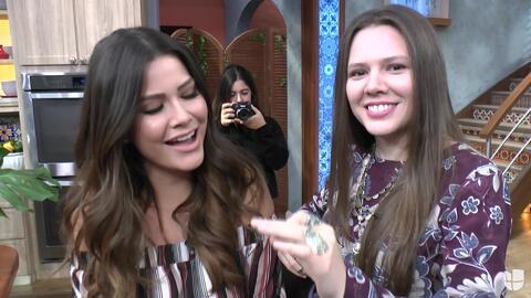 Detrás de cámaras: Ana Patricia quiso demostrarle a 'Jesse & Joy' sus do...