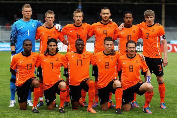 Holanda se mostraba muy confiada en el inicio queriendo jugar a velocidad.