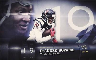 Top 100 Jugadores del 2016: (Lugar 19) WR DeAndre Hopkins