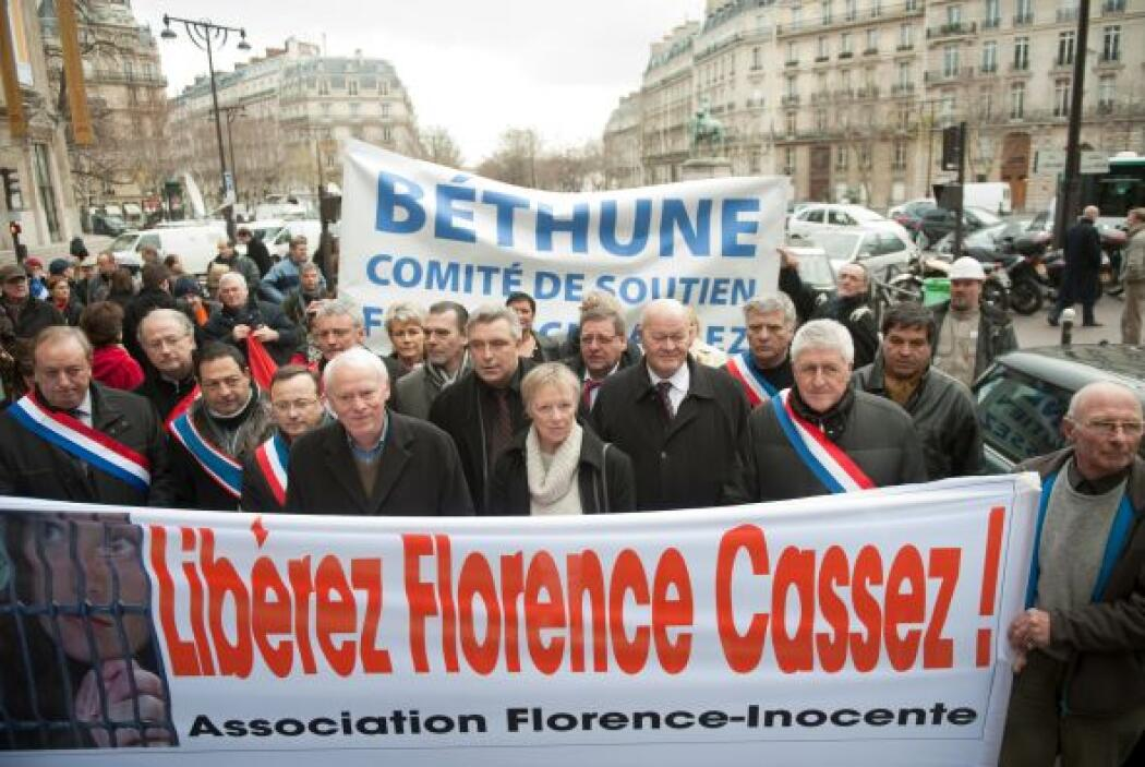 En Francia se han realizado varias marchas en apoyo a Florence.